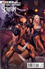 X-Men: Schism (2011) #1 Variant D: 1:20 Variant