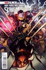 X-Men: Schism (2011) #1 Variant E: 1:25 Variant