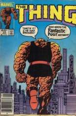 Thing (1983-1986) #23 Variant A: Newsstand Edition