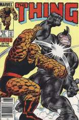 Thing (1983-1986) #24 Variant A: Newsstand Edition