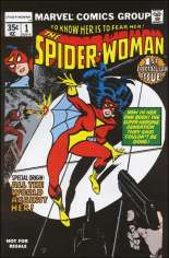 Spider-Woman (1978-1983) #1 Variant B: Marvel Legends Series XV Reprint Packaged w/ Spider-Woman