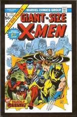Giant-Size X-Men (1975-2005) #1 Variant B: Mini-Comic Reprint Packaged w/ Authentics Die-Cast Car