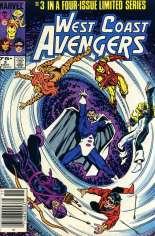 West Coast Avengers (1984) #3 Variant A: Newsstand Edition