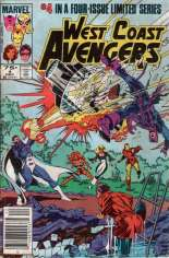 West Coast Avengers (1984) #4 Variant A: Newsstand Edition