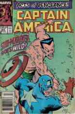 Captain America (1968-1996) #365 Variant A: Newsstand Edition