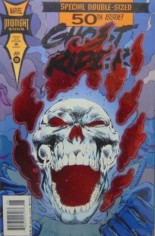 Ghost Rider (1990-1998) #50 Variant A: Newsstand Edition; Foil Cover