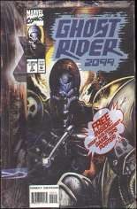 Ghost Rider 2099 (1994-1996) #2 Variant B: Polybagged w/ Sub-Terrania Game Tips Poster