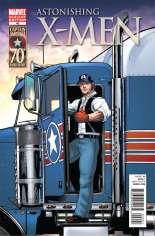 Astonishing X-Men (2004-2013) #40 Variant B: I Am Captain America Cover
