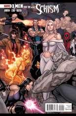 X-Men: Schism (2011) #2 Variant B: 1:20 Variant