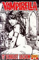 Vampirella and the Scarlet Legion #3 Variant D: Sketch Cover