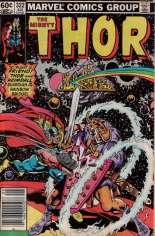 Thor (1966-1996) #322 Variant A: Newsstand Edition