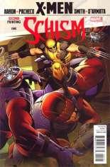 X-Men: Schism (2011) #1 Variant G: 2nd Printing