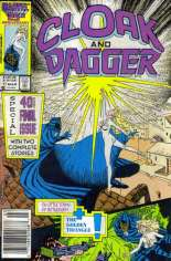 Cloak and Dagger (1985-1987) #11 Variant A: Newsstand Edition