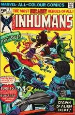 Inhumans (1975-1977) #1 Variant B: UK Edition