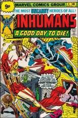 Inhumans (1975-1977) #4 Variant C: UK Edition