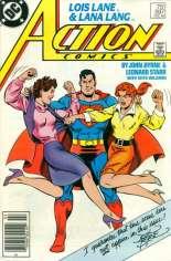 Action Comics (1938-2011, 2016-Present) #597 Variant A: Newsstand Edition