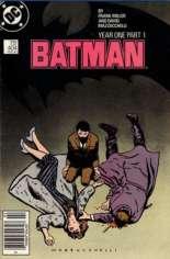 Batman (1940-2011) #404 Variant A: Newsstand Edition