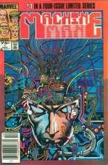 Machine Man (1984-1985) #1 Variant A: Newsstand Edition