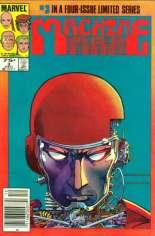 Machine Man (1984-1985) #3 Variant A: Newsstand Edition