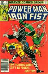 Power Man and Iron Fist (1978-1986) #74 Variant A: Newsstand Edition