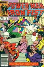 Power Man and Iron Fist (1978-1986) #110 Variant A: Newsstand Edition