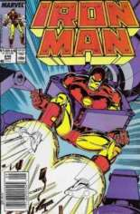 Iron Man (1968-1996) #246 Variant A: Newsstand Edition