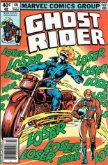 Ghost Rider (1973-1983) #46 Variant A: Newsstand Edition