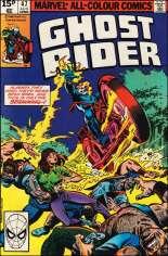Ghost Rider (1973-1983) #47 Variant C: UK Edition