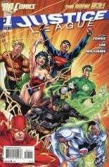 Justice League (2011-2016) #1 Variant A