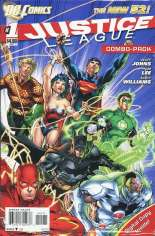 Justice League (2011-2016) #1 Variant B: Combo Pack