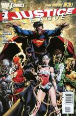 Justice League (2011-2016) #1 Variant C: 1:25 Variant