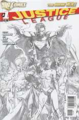 Justice League (2011-2016) #1 Variant D: Sketch Cover