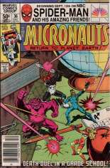 Micronauts (1979-1984) #36 Variant A: Newsstand Edition
