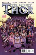 Mighty Thor (2011-2012) #5 Variant A