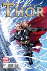 Mighty Thor (2011-2012) #5 Variant B: 1:12 Variant