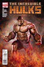 Incredible Hulks (2010-2011) #635 Variant D: 1:25 Variant