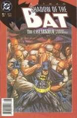 Batman: Shadow of the Bat (1992-2000) #1 Variant A: Newsstand Edition