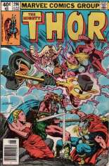 Thor (1966-1996) #296 Variant A: Newsstand Edition