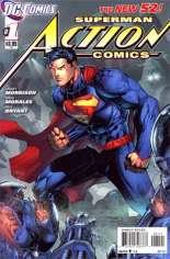 Action Comics (2011-2016) #1 Variant C: 1:20 Variant