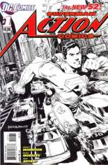Action Comics (2011-2016) #1 Variant D: 1:200 Sketch Cover