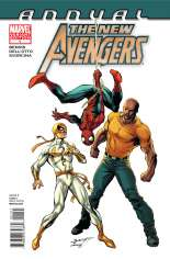 New Avengers (2010-2013) #Annual 1 Variant B: 1:20 Variant