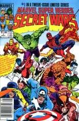 Marvel Super-Heroes Secret Wars (1984-1985) #1 Variant C: $1.00 Variant