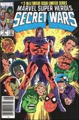 Marvel Super-Heroes Secret Wars (1984-1985) #2 Variant C: $1.00 Variant