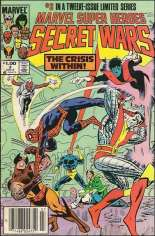 Marvel Super-Heroes Secret Wars (1984-1985) #3 Variant C: $1.00 Variant