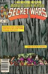 Marvel Super-Heroes Secret Wars (1984-1985) #4 Variant C: $1.00 Variant