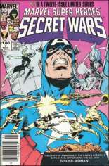 Marvel Super-Heroes Secret Wars (1984-1985) #7 Variant C: $1.00 Variant
