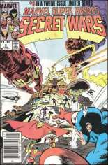 Marvel Super-Heroes Secret Wars (1984-1985) #9 Variant C: $1.00 Variant
