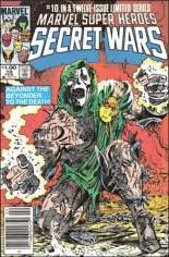 Marvel Super-Heroes Secret Wars (1984-1985) #10 Variant C: $1.00 Variant
