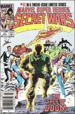 Marvel Super-Heroes Secret Wars (1984-1985) #11 Variant C: $1.00 Variant