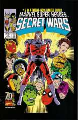Marvel Super-Heroes Secret Wars (1984-1985) #2 Variant E: Marvel Universe Comic Packs Reprint Packaged w/ Wolverine and Human Torch